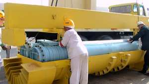 مفاعل بوشهر الإيراني 2010