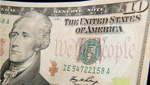 صورة للعملة الورقية فئة 10 دولارات