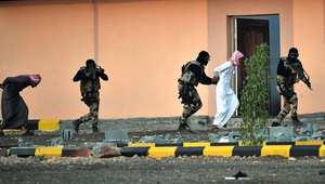 قوات خاصة سعودية خلال تدريب على مكافحة الإرهاب