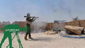 بالصور.. قوات الحشد الشعبي على الأرض في العراق