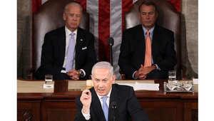 أرشيف - نتنياهو يخاطب اجتماع للكونغرس الأمريكي 24 مايو/ أيار 2011