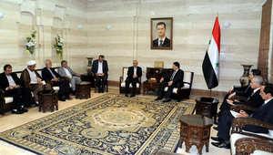 """رئيس الوزراء السوري يجتمع مع رئيس منظمة الحج الإيرانية لتسهيل إجراءات """"الحجاج الشيعة"""""""