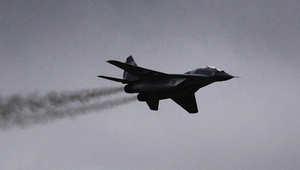 سقوط طائرة عسكرية بالجزائر ونجاة الطيار