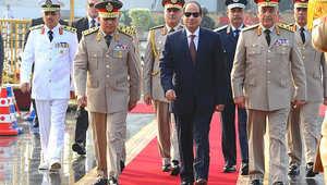 السيسي في احتفالات الذكرى 42 لحرب 73: لن يستطيع أي أحد أن يهزم إرادة الشعب المصري