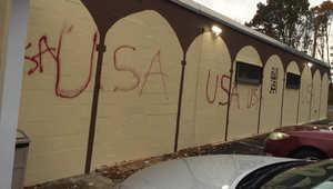 """اعتداء تخريبي على مركز إسلامي في أمريكا.. و""""كير"""" يدعو إلى التحقيق في """"جريمة كراهية"""""""