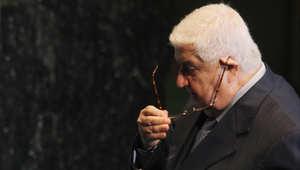 وزير الخارجية السوري وليد المعلم يلقي كلمة سوريا في الجمعية العامة للأمم المتحدة
