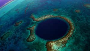 الثقب الأزرق