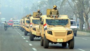 """الجيش المصري ينشر قواته """"للاحتفال والتأمين"""" في 25 أبريل.. والداخلية تحذر من تجاوز القانون"""