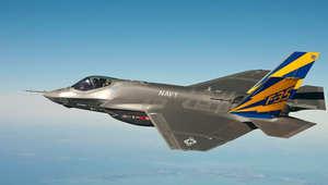 """طائرة """"اف-35"""""""