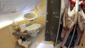 مفهوم جديد للرفاهية في السماء..شقق سكنية وحمام ساخن وأشهى المأكولات على متن الطائرات
