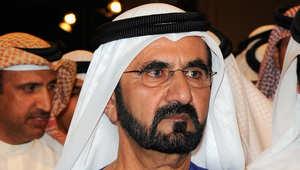صورة أرشيفية للشيخ محمد بن راشد آل مكتوم، ديسمبر/ كانون الأول 2011