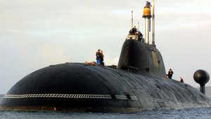 وكالة تاس: النيران تشتعل بغواصة نووية روسية