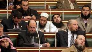 نواب حزب النور في جلسة للبرلمان المصري