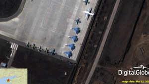 طائرات روسية مقاتلة قرب حدود أوكرانيا