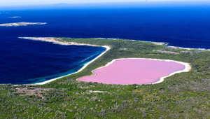 بحيرة هيللير استراليا