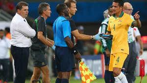 لقطة من إحدى مباريات مونديال البرازيل