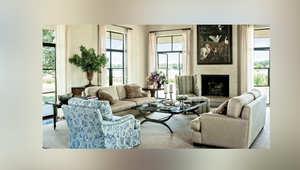 بالصور..نظرة داخل منزل بوش وزوجته