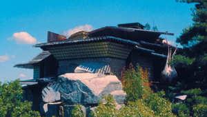 البيت فوق الصخرة