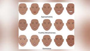 انطباعات مختلفة تتأثر بملامح الوجه بأقل من 100 ميللي من الثانية