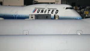 """صورة ارشيفية لطائرة من اسطول """"يونايتد"""""""