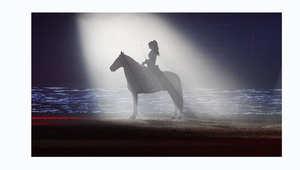 الخيول الراقصة تجلب مع صاحبتها جمهوراً جديداً لعالم الفروسية