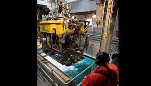 صورة لمركبة استكشاف اعماق البحار