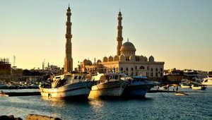 مدينة الغردقة على البحر الأحمر مصر