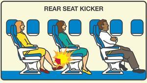 هل هذا التصرف الأكثر إزعاجاً على متن الطائرة؟