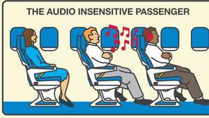 10 تصرفات تثير جنون الركاب على الطائرة..ما هي؟