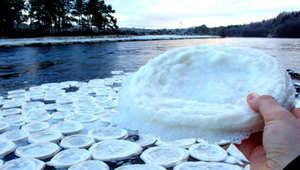 أقراص الثلج الدائرية الغامضة