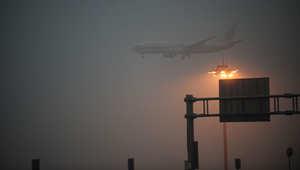 تحويل مسار 7 رحلات تقصد مطار أبوظبي بسبب الضباب