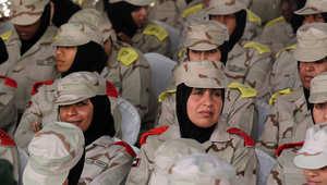 مجندات في الجيش الإماراتي