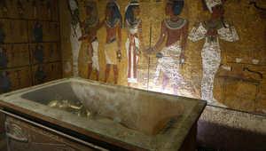 ناووس الفرعون توت غنخ آمون