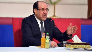 المالكي يشكر خامنئي ويؤكد: قادمون يا نينوى تعني قادمون يا يمن وقادمون يا رقة