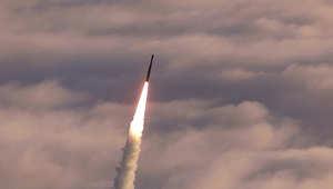 صورة ارشيفية لتجربة أخرى لذات النظام الدفاعي الصاروخي