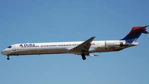 """صورة لطائرة تابعة لطيران """"دلتا"""""""