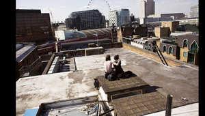 """بالصور..منازل مهجورة في لندن ينفخ """"محتلوها"""" الجدد الروح فيها"""