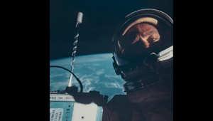 أول صورة سيلفي في الفضاء التقطت أثناء بعثة جيمني 12 في نوفمبر/تشرين الثاني 1966