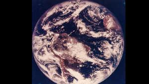 أول صورة ملونة للأرض التقطت في 10 نوفمبر/تشرين الثاني  1967