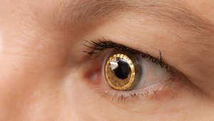 عدسات لاصقة ذكية لمساعدة الأشخاص المصابين بالعمى