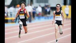 سباق ركض 100 متر في اليابان