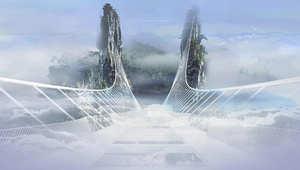 هذا الجسر فقط..للشجعان وأصحاب القلوب القوية في الصين