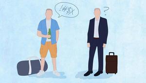 السفر مع مديرك مهمة صعبة.. دليلك للحفاظ على وظيفتك