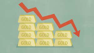الذهب يشهد أكبر انخفاض بأسعاره منذ ستة أعوام