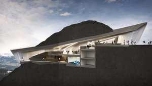 لعشاق تسلق الجبال... شاهد هذا المتحف المعلق على قمة جبال الألب الإيطالية