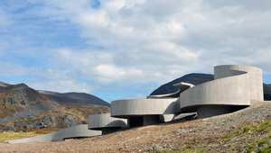 طريق سيلفيكا الوطني للسيّاح للمصمم ريولف رامستاند في فينمارك في النرويج