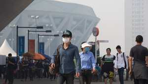 التلوث يضرب لاعبي التنس بدورة الألعاب المفتوحة بالصين