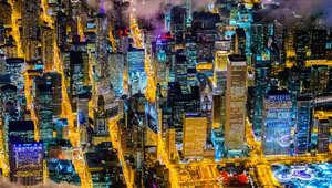 """تعرّف إلى أكبر المدن من باب """"هليكوبتير"""" على ارتفاع 12 ألف قدم"""