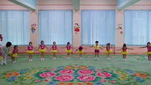 """""""دنيا الخيال الاشتراكي"""" تتأنسن بالأصفر والبرتقالي والأزرق..وكوريا الشمالية تتزين بوجه طفولي غريب عنها"""