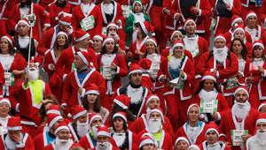 بابا نويل في كل مكان..شاهد الصور وستتأكد من ذلك